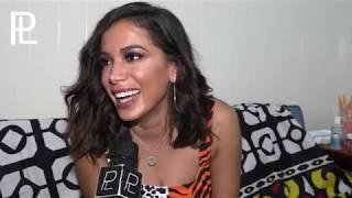 Anitta fala  em exclusivo ao Platina line