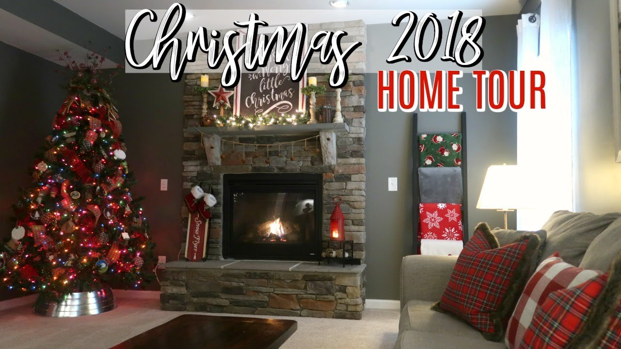 🎄❤️🎄 Christmas Home Tour 2018 | Christmas Decor Tour | Cook Clean And  Repeat
