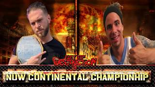 Day of Destruction 3: NUW Continental Championship Match (Story Package)