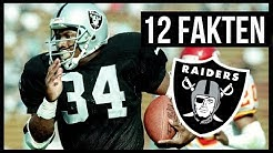 12 Fakten zu den Oakland Raiders | FUMBLE - Das Football-Magazin