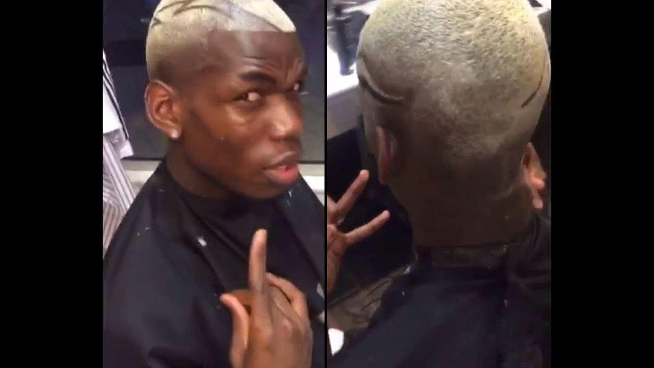 Paul Pogba Gets New Haircut Ahead Of Red Monday Youtube