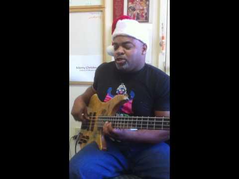Anthony Wellington Christmas Medley Bass loop jam!!