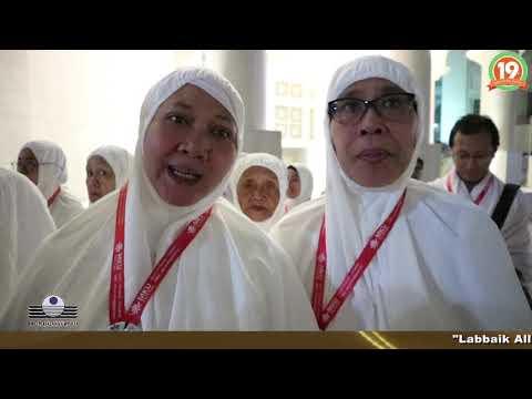 ARAB SAUDI SAMBUT JAMAAH UMROH INDONESIA dengan BAHAGIA.