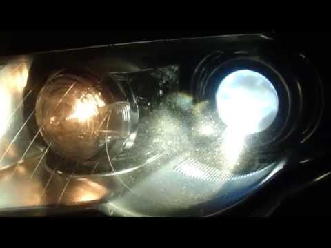 vw passat   fix dangorus frayed headlight wires cheap china crap remove bumper