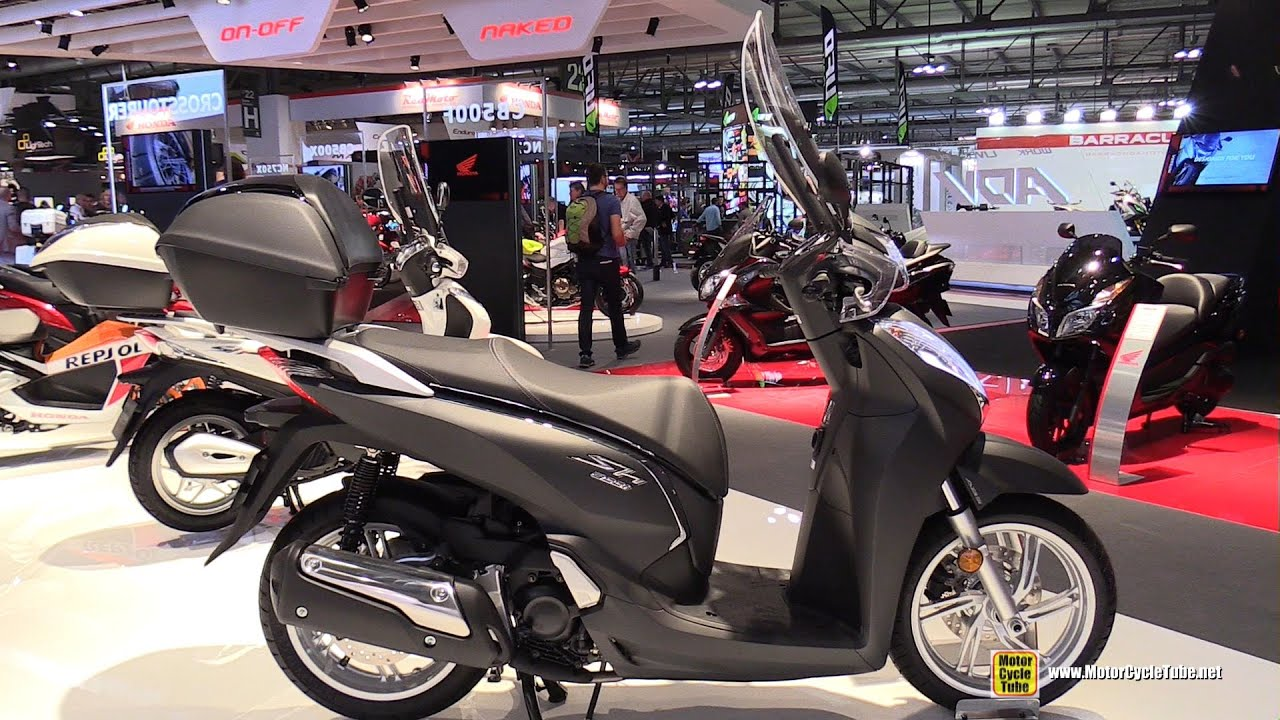 2016 honda sh300i abs scooter walkaround 2015 eicma. Black Bedroom Furniture Sets. Home Design Ideas