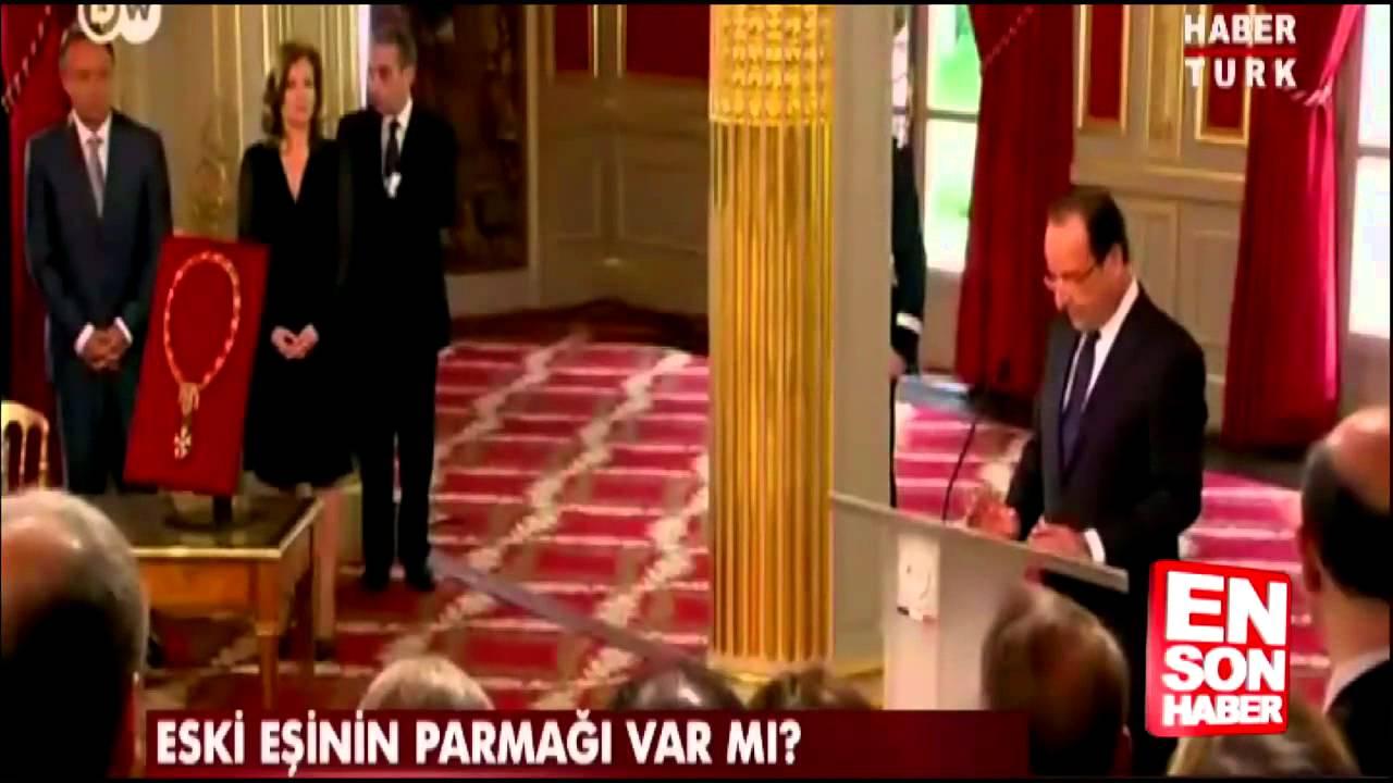 François Hollande'ın Julie Gayet'le aşk skandalı