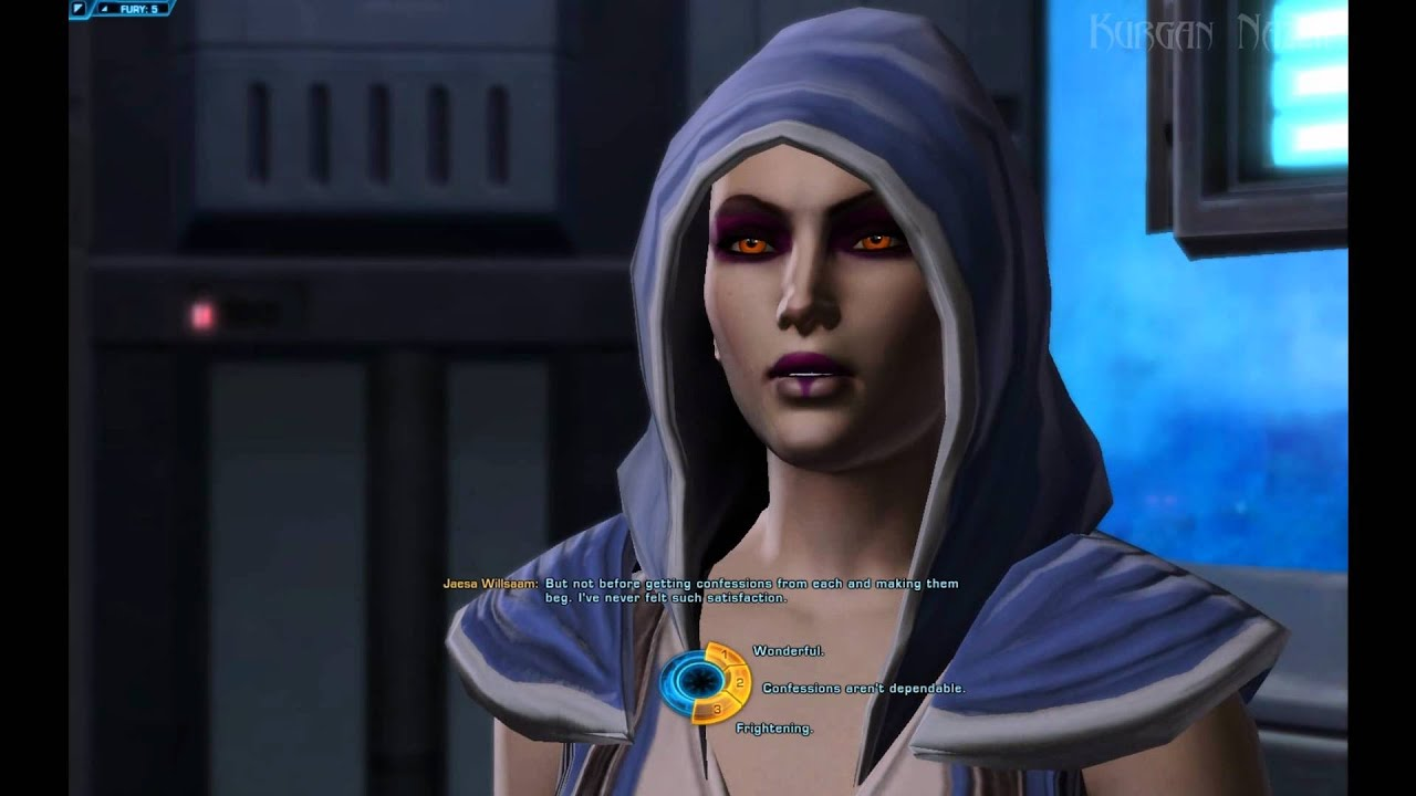 Swtor Talking With Jaesa Flirt Sex And More Youtube