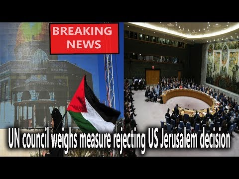 UN council weighs measure rejecting US Jerusalem decision || World News Radio
