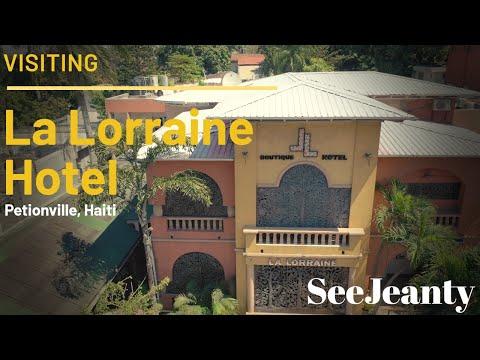 Visiting La Lorraine Boutique Hotel, Petionville Haiti