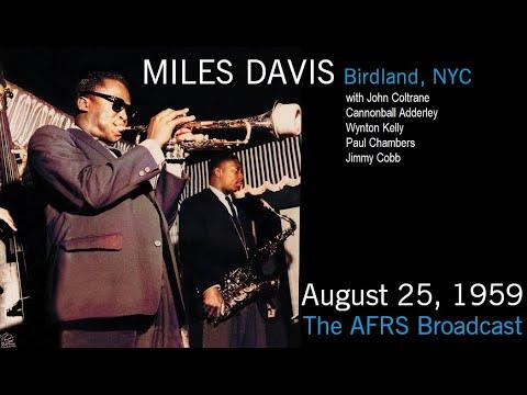 Miles Davis- August 25, 1959 Birdland, New York City