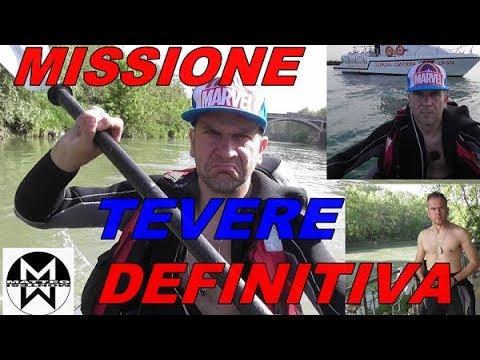 35 KM SUL TEVERE DA ROMA A FIUMICINO MONTESI MISSIONE DEFINITIVA