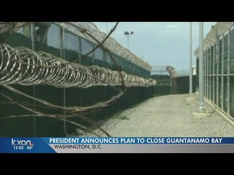 Obama announces controversial plan to move Guantanamo Bay prisoners