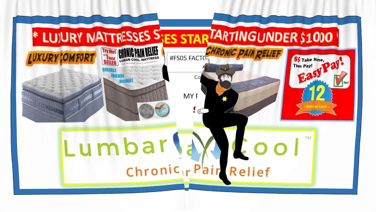 Barter Post Lumbar Cool Mattress Rainsville Al Youtube