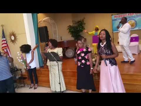 10 Adonai, we worship you, vidéo 2   Groupe Psaume 150   MFCI Church   Culte du 24 Juin 2018