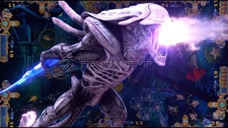 Alien Assassin fish table gambling arcade shooting hunter skill game machine software fishing Game