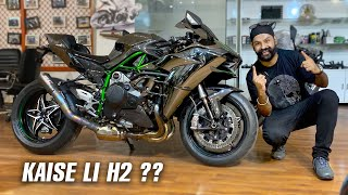 how JS FILMS bought KAWASAKI H2