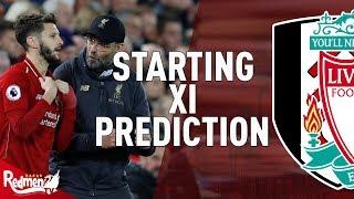 Fulham v Liverpool | Starting XI Prediction LIVE