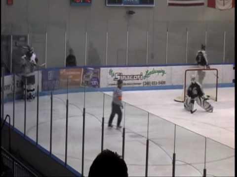 Oakland University Hockey Haugh vs MSU 2008
