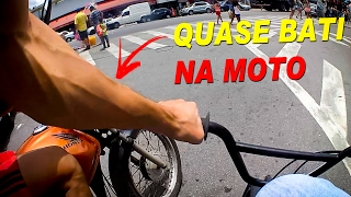 BiKe VLOG BMX - Quase bati na moto e role na pista no CEU Campo Limpo