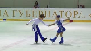 "Орлова Варвара и Шакиров Родион ""Калинка"""