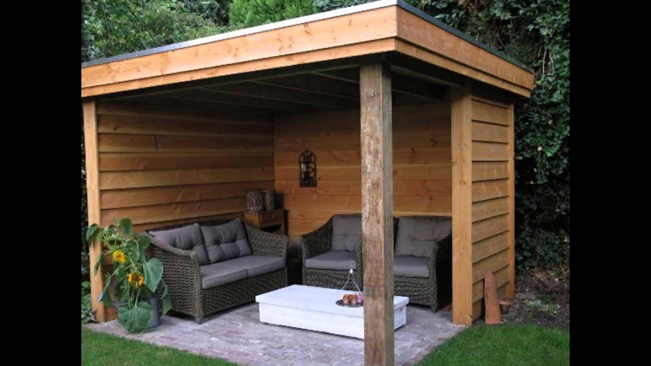 Overkapping Tuin Hout : Buitenkamers en houten veranda s houten overkappingen youtube