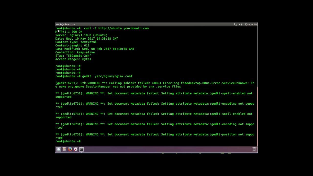 Hide Server Signature of Nginx Web Server on Linux