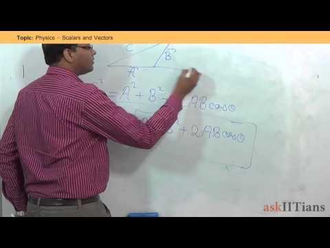 Scalars and Vectors | Physics | Class 11 | IIT JEE Main + Advanced | NEET (AIPMT) | askIITians