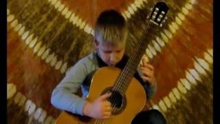 Giuliani: Harp Study Op. 48. No 5. - Gergely Gembela