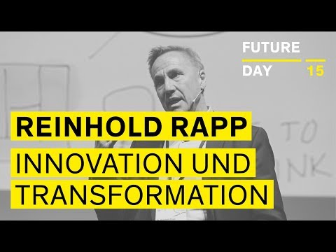 Geschäftsmodell-Innovationen und Transforamtion - Dr. Reinhold Rapp - Future Day 15