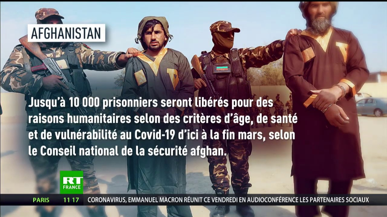 Dans le monde entier, des détenus sont libérés pour enrayer le Covid-19