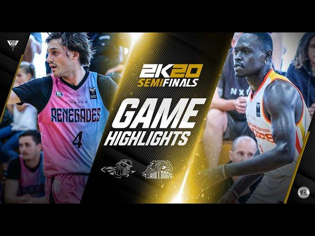 March 14, 2021 MBL2K20 Semifinals: Renegades VS Bright Start Bulldogs