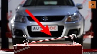 Hvordan du servicere din bil selv – SUZUKI reparationsinstruktioner