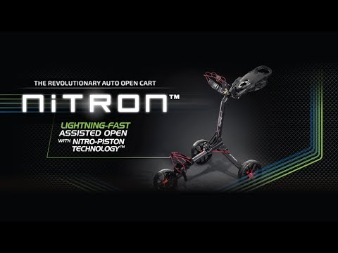 Bag Boy Nitron - Auto Open Push Cart