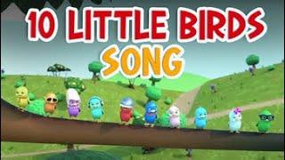 10 Little Birds Song | Nursery Rhymes for Babies by Kachy TV - Kids Songs