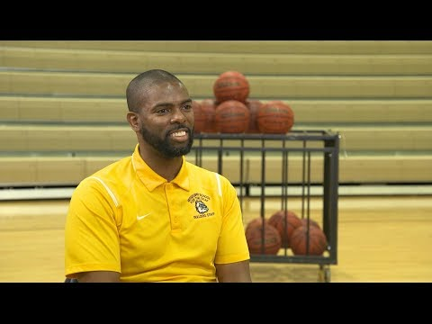 Deaf basketball coach serves as an inspiration to his players