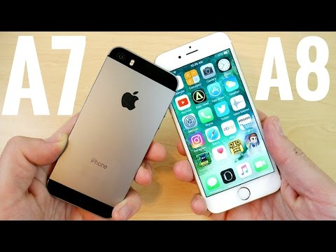 iPhone 5S vs iPhone 6 iOS 10.2.1