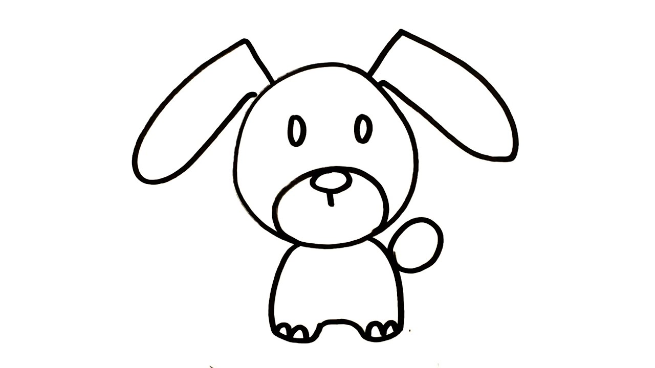 8600 Koleksi Gambar Kartun Anjing Untuk Mewarnai Gratis
