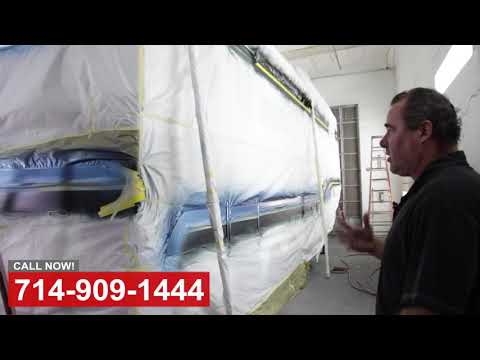 Custom Trailer Paint Shop in Orange County CA