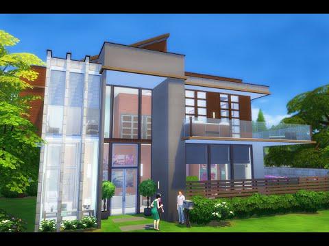 The Sims 4 build | Modern Diamond House