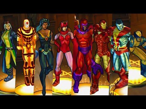 X-Men Legends II: Rise of Apocalypse - All Characters