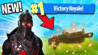 TROLLED BY THE LEGENDARY HEAVY SHOTGUN! | Fortnite Battle Royale