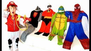 Richard and Superheroes Kids Costume