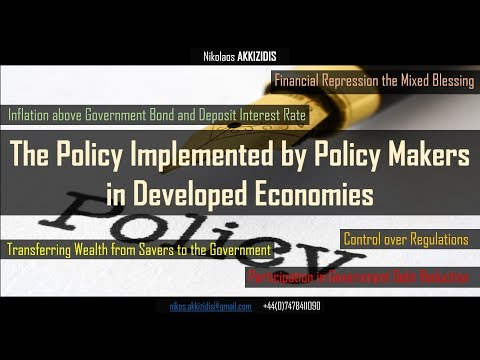 The Policy Implemented by Policy Makers in Developed Economies