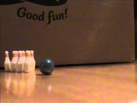 Bowling a strike with sound.wmv