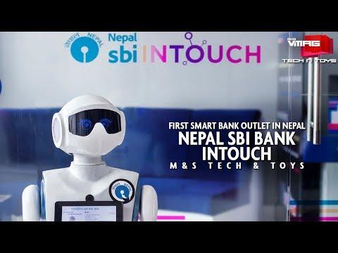 Nepal's first smart banking | Nepal SBI Bank, INTOUCH Branch | NEPAL TELECOM TECH & TOYS