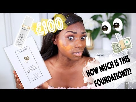 IS THIS THE WORLDS BEST fOUNDATION!? WORTH IT OR NAH? CUSTOM LANCOME FOUNDATION REVIEW