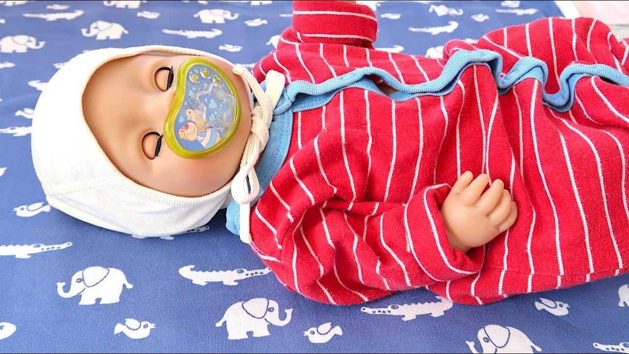 У Беби Бон Заболело Ушко, Как Мама Укладывала Куклу Спать Мультик Для детей 108мама тв