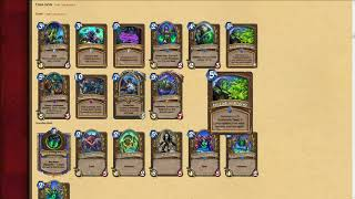 Knights of the Frozen Throne Druid/Hunter Card Review (Pt 2)
