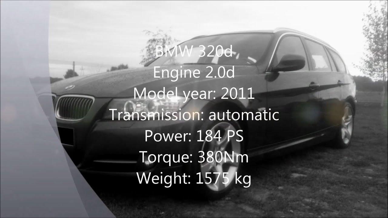BMW 320d 184 PS 0 100 0 200 233 km h topspeed run