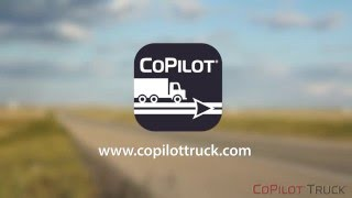CoPilot® Truck™ GPS